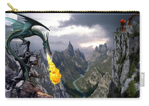 Dragon Valley Carry-all Pouch