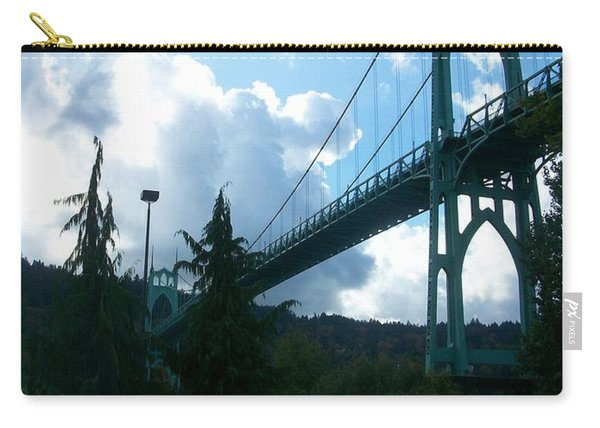 Dramatic St. Johns Carry-all Pouch