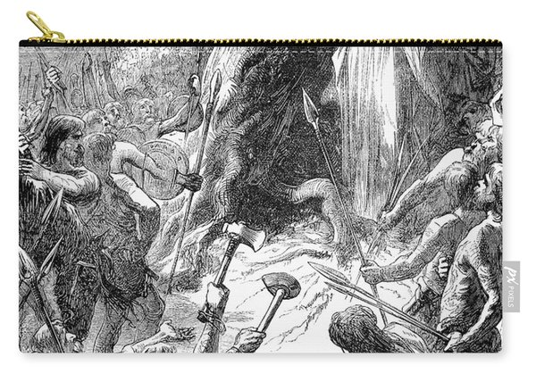 Druids And Britons Carry-all Pouch