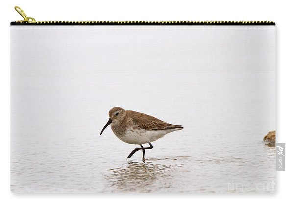 Dunlin In Winter Carry-all Pouch