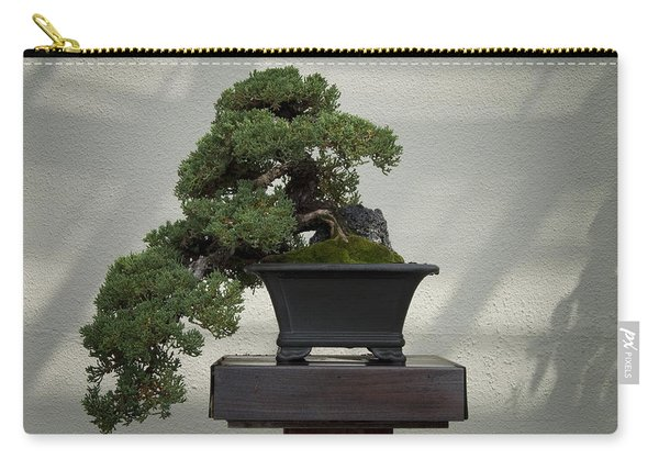Dwarf Japanese Garden Juniper Carry-all Pouch