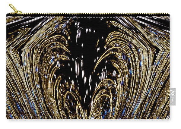Effervescent Golden Arches Abstract Carry-all Pouch
