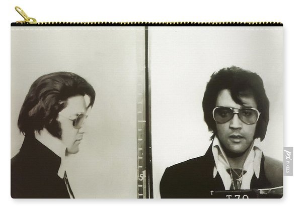 Elvis Mugshot 1970 Carry-all Pouch