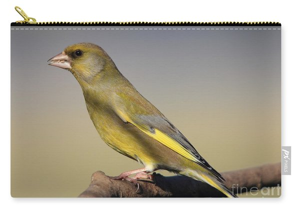 European Greenfinch Carry-all Pouch