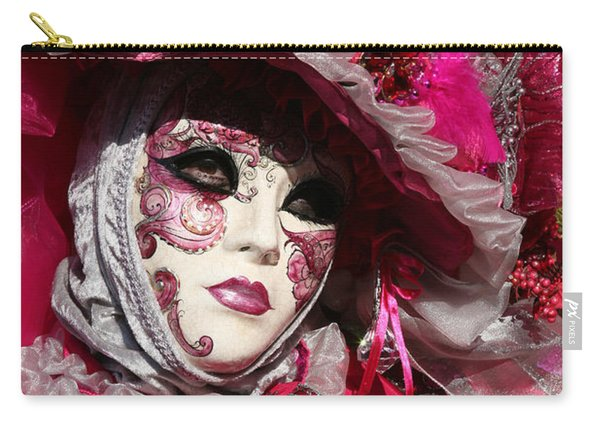 Eve In Pink Carry-all Pouch
