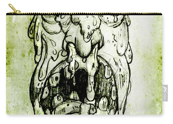 Evil Snot Monster Carry-all Pouch