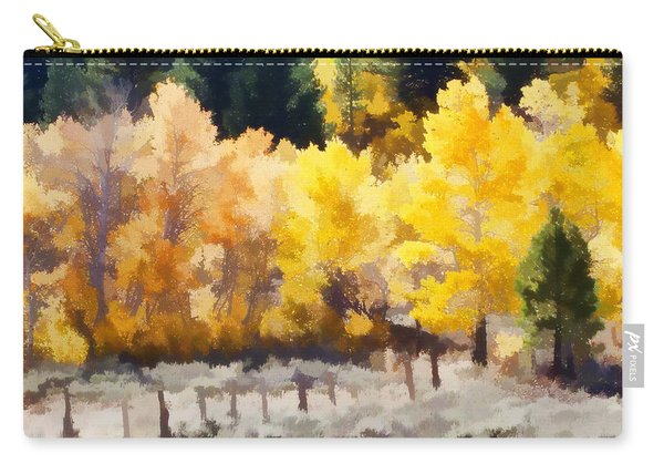 Fall In The Sierra Carry-all Pouch