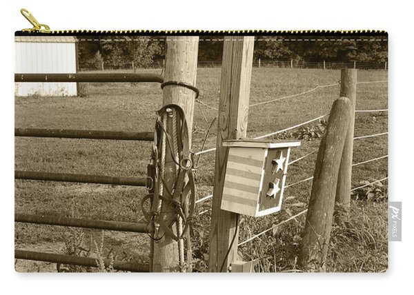 Fence Post Carry-all Pouch