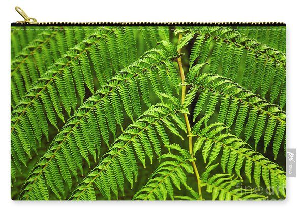 Fern Fronds Carry-all Pouch