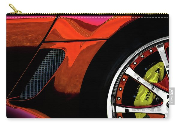 Ferrari Wheel Detail Carry-all Pouch