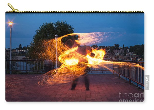 Fiery Dancer Carry-all Pouch