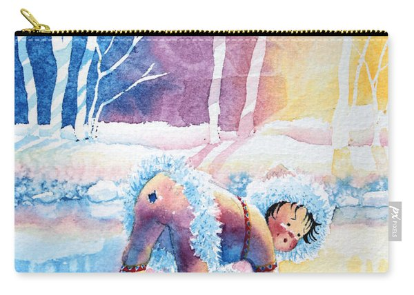 Figure Skater 12 Carry-all Pouch