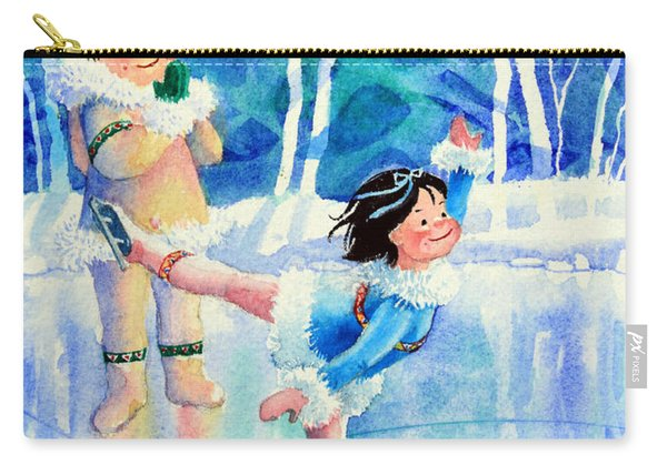 Figure Skater 15 Carry-all Pouch