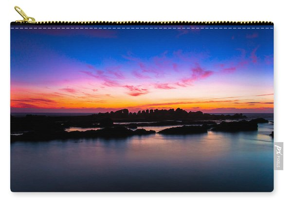 Figures To Sunset Carry-all Pouch