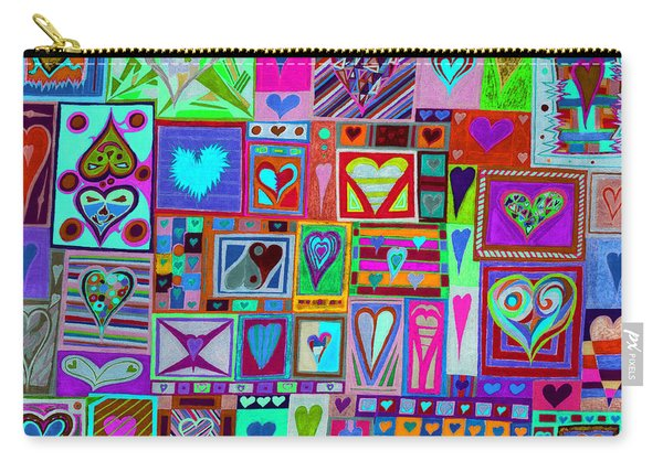 find U'r love found v1 Carry-all Pouch