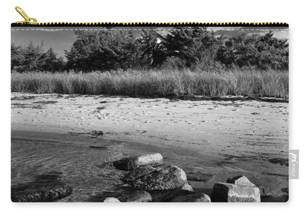 Fire Island In Black And White Carry-all Pouch