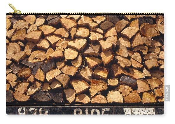 Firewood Hauled From Clearcut On Truck Carry-all Pouch