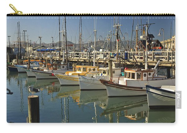 Fishermens Terminal San Francisco Carry-all Pouch
