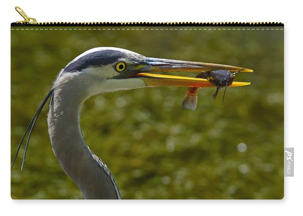 Fishing For A Living Carry-all Pouch