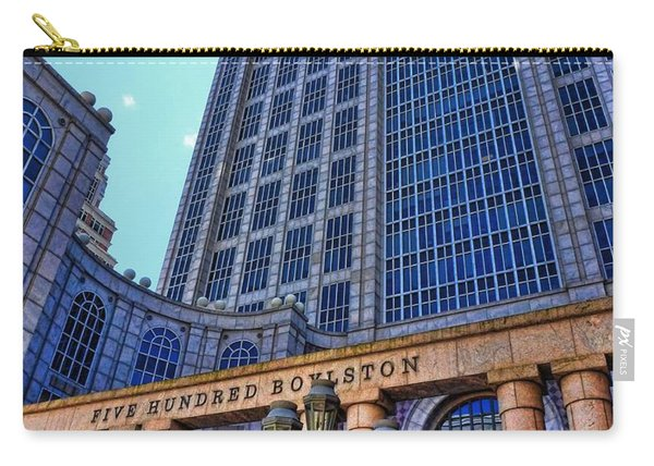 Five Hundred Boylston - Boston Architecture Carry-all Pouch