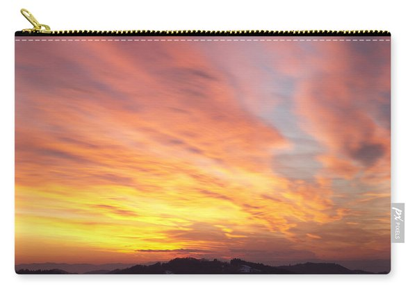 Flaming Sunset Carry-all Pouch