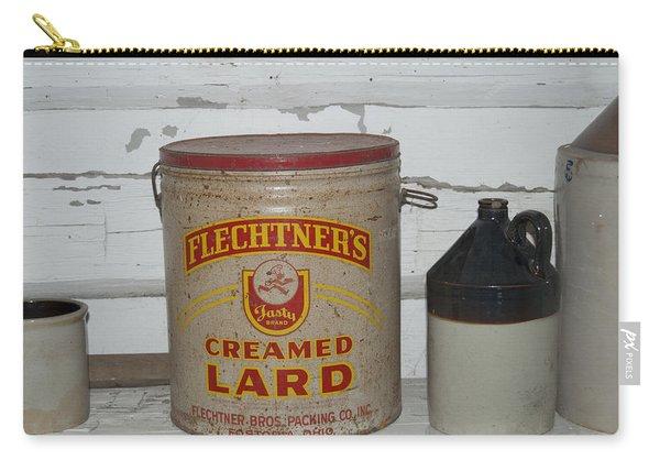 Flechtners Creamed Lard Carry-all Pouch