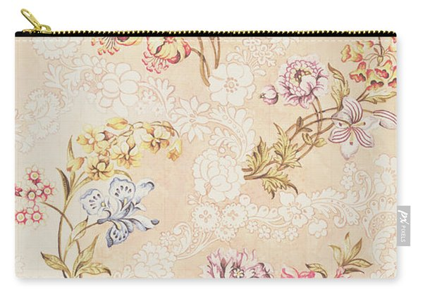 Floral Design With Peonies Lilies And Roses Carry-all Pouch