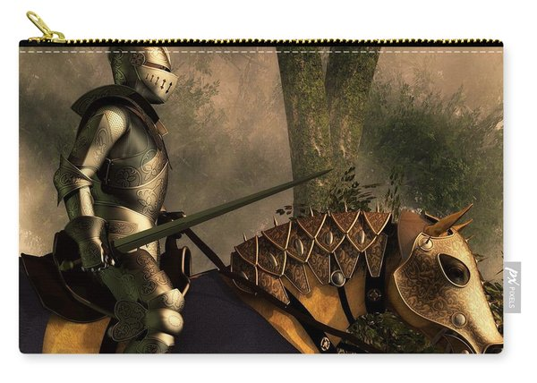 Foggy Forest Knight Carry-all Pouch