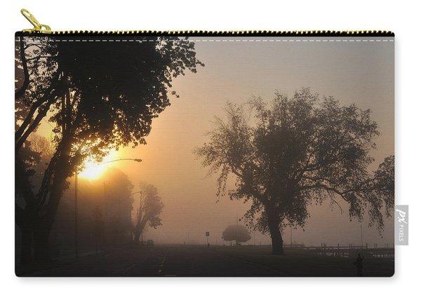 Foggy Morn Street Carry-all Pouch