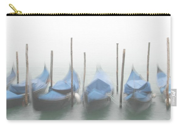 Foggy Morning Grand Canal Carry-all Pouch