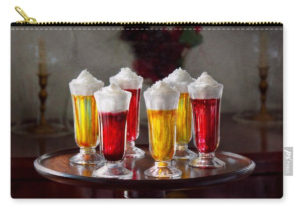 Food - Sweet - Let's Parfait All Night  Carry-all Pouch