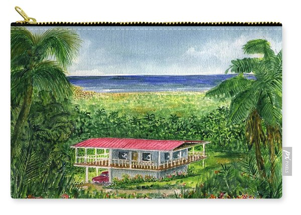 Foothills Of El Yunque Puerto Rico Carry-all Pouch