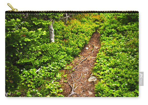 Forest Path In Newfoundland Carry-all Pouch