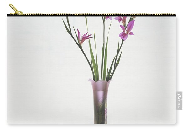 Freesias In Vase Carry-all Pouch