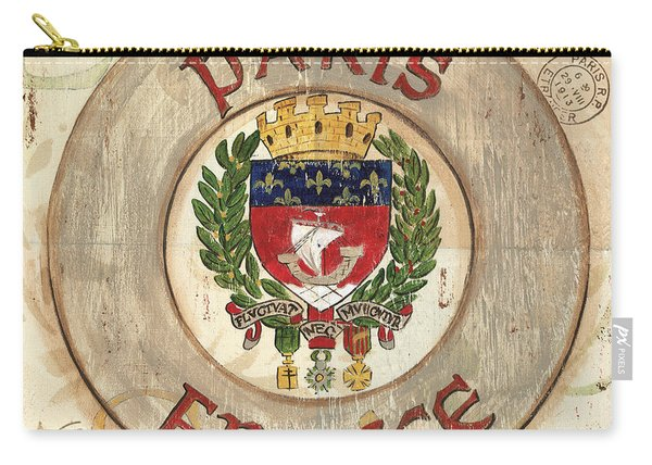 French Coat Of Arms Carry-all Pouch