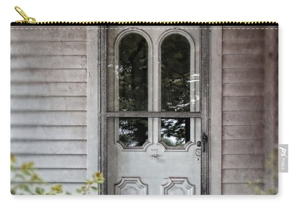 Front Door Of Vintage House Carry-all Pouch