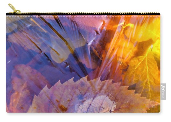 Frozen Leaves ... Carry-all Pouch