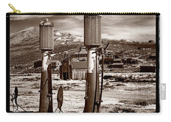 Fuel Pumps And Firehouse In Bodie Carry-all Pouch