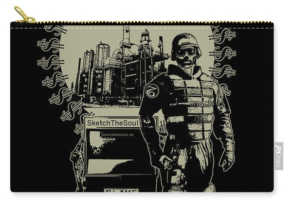 Gas Riot  Carry-all Pouch