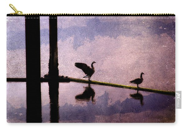 Geese At Dawn Carry-all Pouch