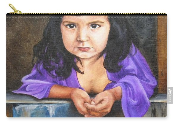 Girl From San Luis Carry-all Pouch