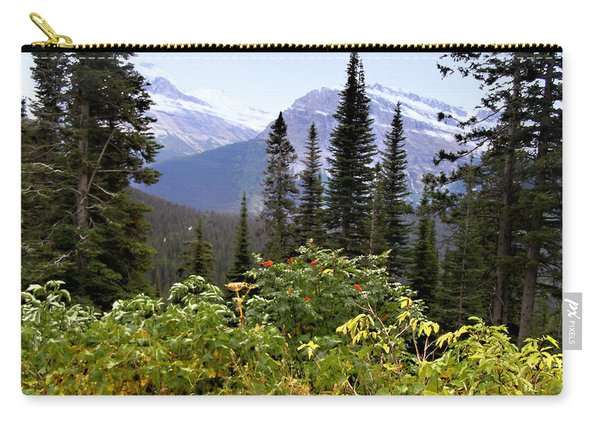 Glacier Scenery Carry-all Pouch
