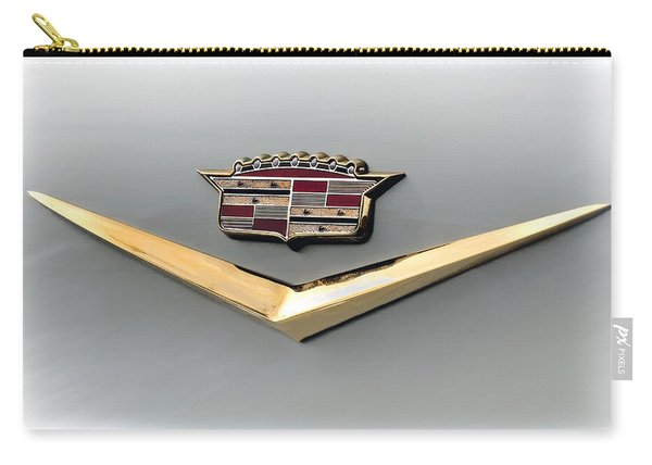 Gold Badge Cadillac Carry-all Pouch