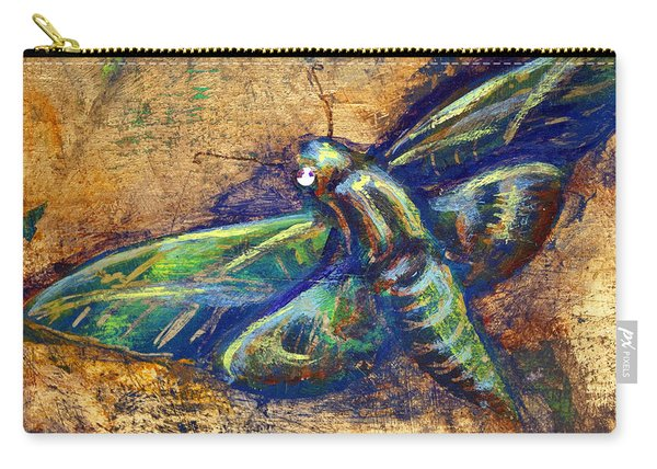 Gold Moth Carry-all Pouch