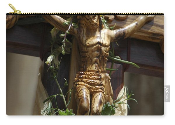 Good Friday At The Via Dolorosa Jerusalem Carry-all Pouch