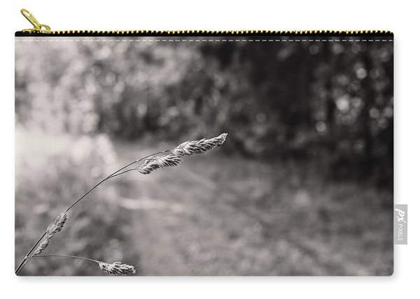 Grass Over Dirt Road Carry-all Pouch