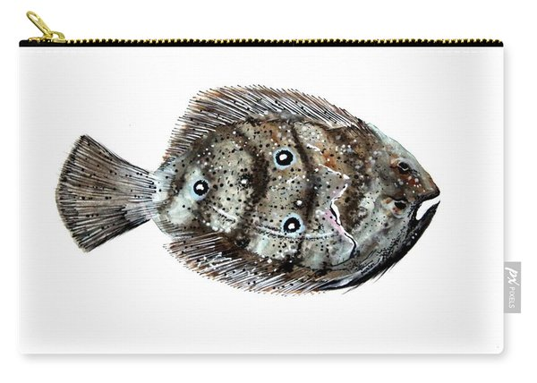 Gulf Flounder Carry-all Pouch