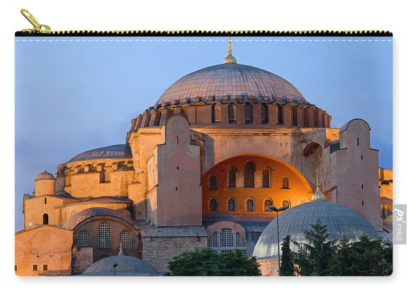 Hagia Sophia At Dusk Carry-all Pouch