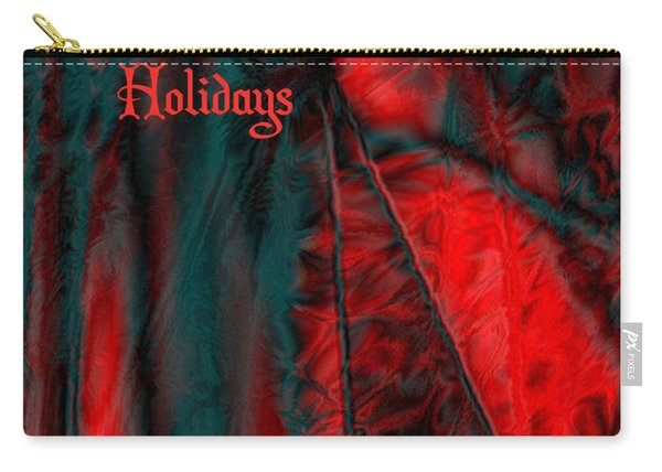 Happy Holidays Carry-all Pouch