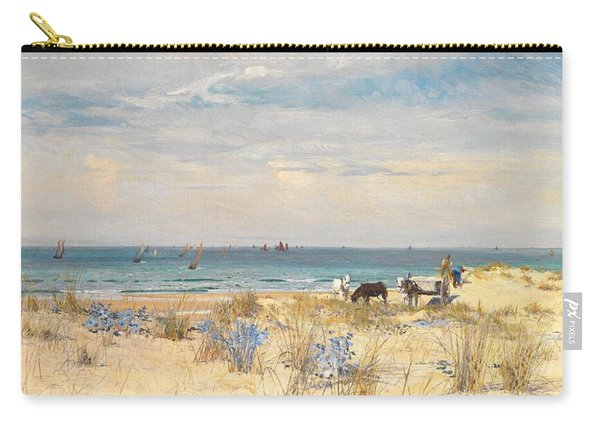 Harvesting The Land And The Sea Carry-all Pouch